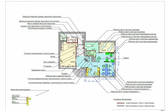 Планировка и перепланировка квартиры, дома, офиса 22 - kwork.ru