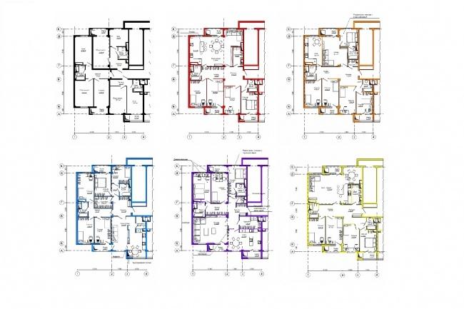 Планировка и перепланировка квартиры, дома, офиса 23 - kwork.ru
