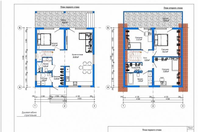 Планировка и перепланировка квартиры, дома, офиса 21 - kwork.ru