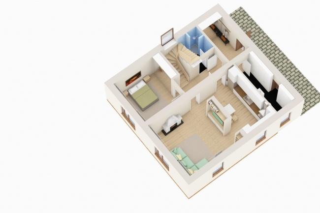 Планировка и перепланировка квартиры, дома, офиса 19 - kwork.ru