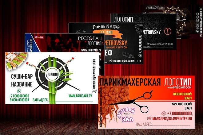 Создам Визитку 5 - kwork.ru