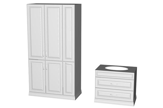 Визуализация мебели, предметная, в интерьере 21 - kwork.ru
