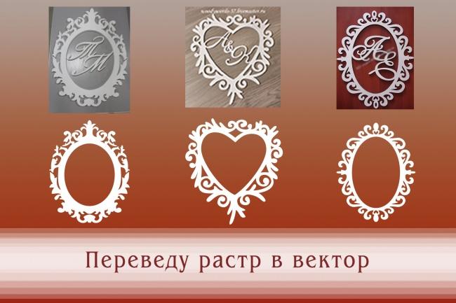Перерисую растровое изображение в векторное 9 - kwork.ru