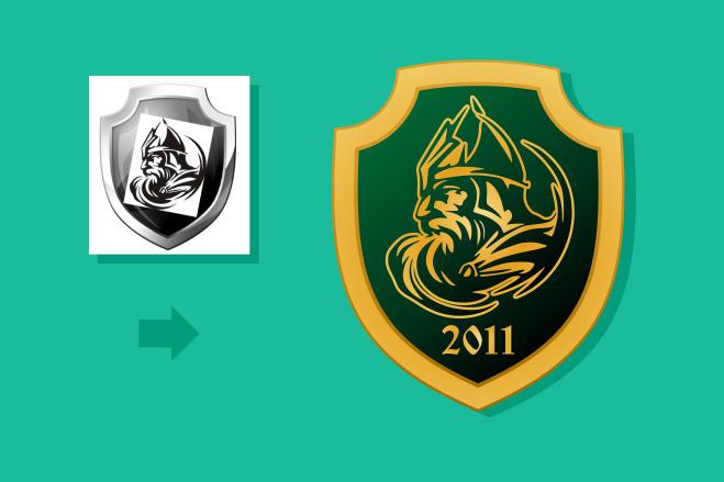 Качественный лого по вашему рисунку. Ваш логотип в векторе 92 - kwork.ru