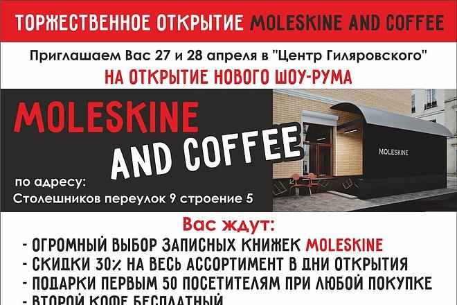 Профессиональный дизайн листовки, флаера 16 - kwork.ru