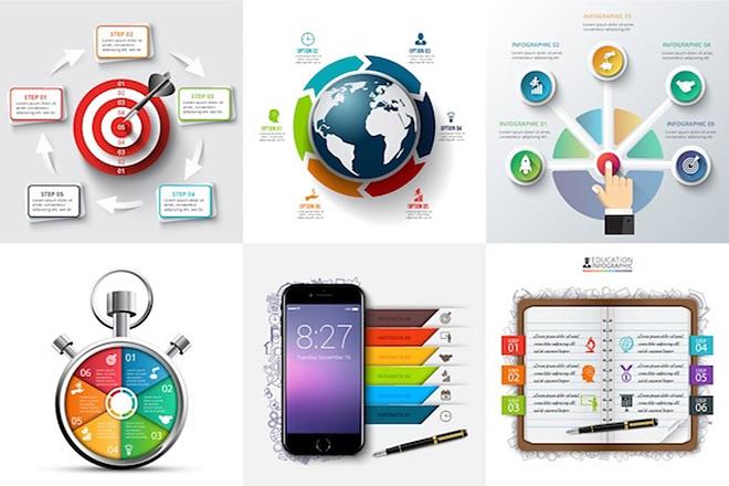 2800 шаблонов для создания инфографики 11 - kwork.ru