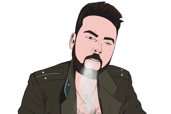 Портрет в стиле комикс поп-арт по фотографии 11 - kwork.ru