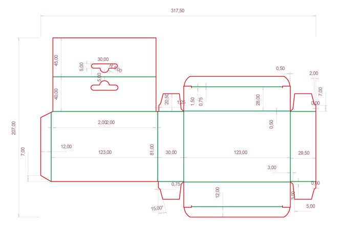 Разработка кроя упаковки из картона или микрогофрокартона 22 - kwork.ru
