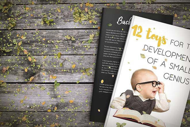 Создам обложку для книги - 3 варианта 5 - kwork.ru