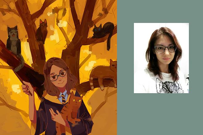 Создам ваш портрет в стиле аниме 7 - kwork.ru