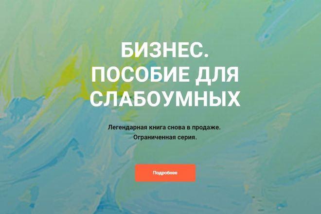 Скопировать Landing page, одностраничный сайт, посадочную страницу 96 - kwork.ru
