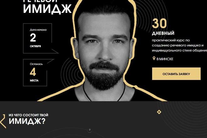 Скопировать Landing page, одностраничный сайт, посадочную страницу 91 - kwork.ru