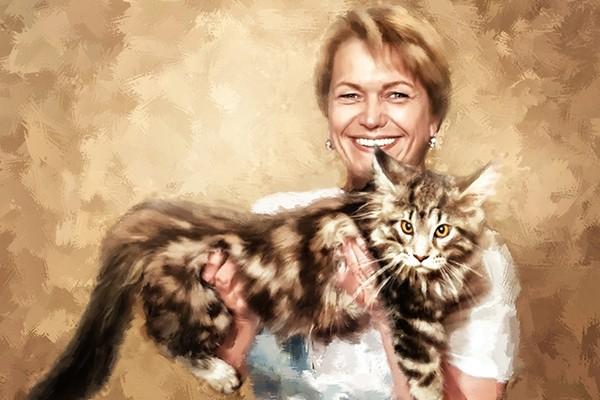 Создам стилизованный цифровой портрет 16 - kwork.ru