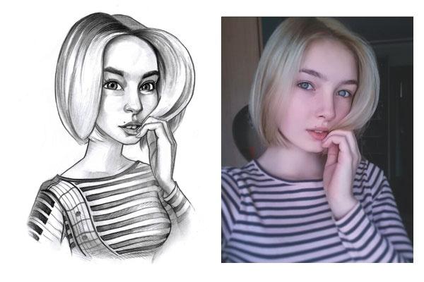 Нарисую шарж 13 - kwork.ru