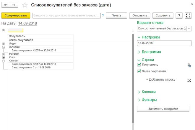 Напишу отчет, печатную форму, обработку 1С 73 - kwork.ru