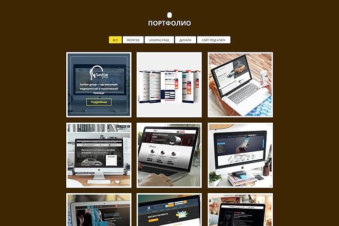 Верстка сайтов из PSD макета 6 - kwork.ru