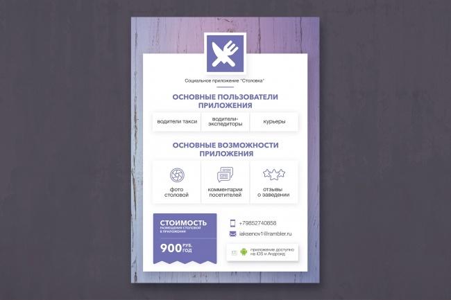 Разработаю дизайн рекламного буклета 26 - kwork.ru