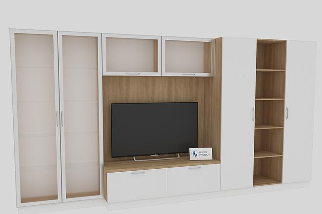 Визуализация мебели, предметная, в интерьере 9 - kwork.ru