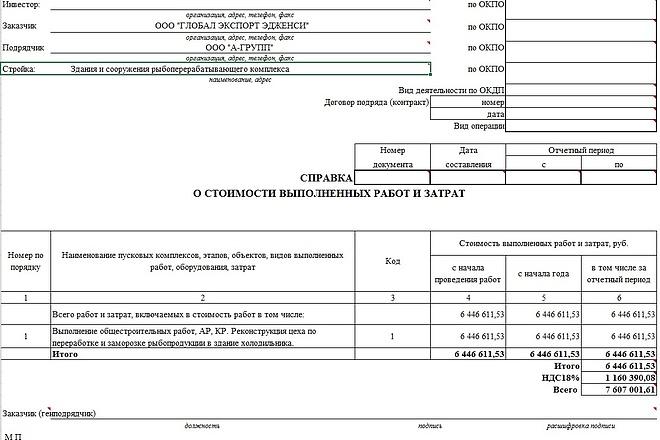 Составлю смету, КС-2, КС-3, коммерческая смета 22 - kwork.ru
