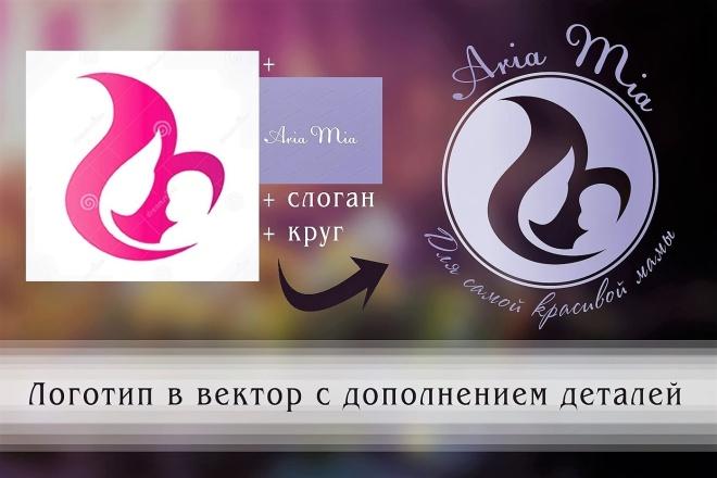 Создам логотип по вашей идее, рисунку 15 - kwork.ru