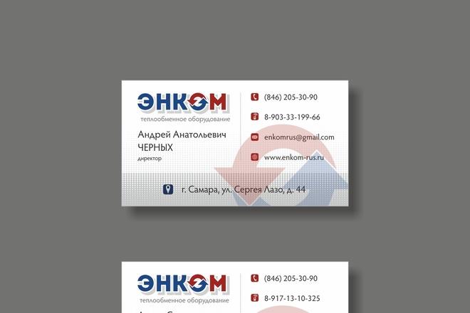 Дизайн визитки 31 - kwork.ru