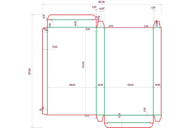 Разработка кроя упаковки из картона или микрогофрокартона 6 - kwork.ru