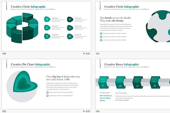 2800 шаблонов для создания инфографики 7 - kwork.ru