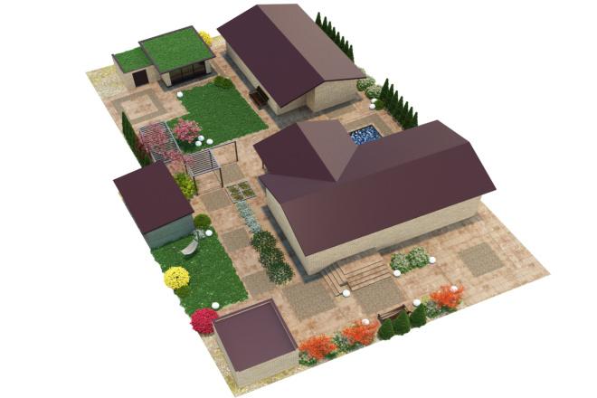 3D визуализация разной сложности 1 - kwork.ru