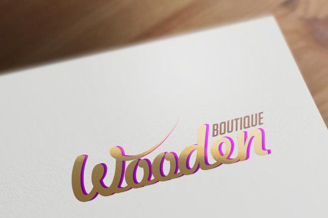 Разработаю винтажный логотип 69 - kwork.ru