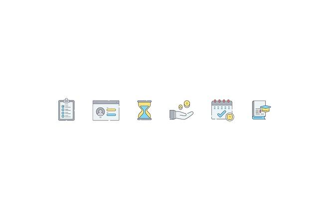 Создам 4 иконки в любом стиле, для лендинга, сайта или приложения 18 - kwork.ru