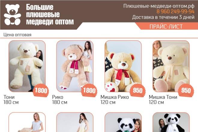 Выполню 2 варианта флаера, листовки 38 - kwork.ru