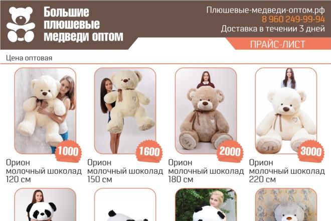 Выполню 2 варианта флаера, листовки 35 - kwork.ru