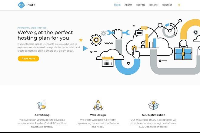 Обновляемая WordPress тема с премиум расширениями - сделай сайт легко 3 - kwork.ru