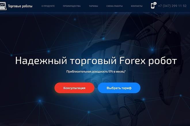 Продающий сайт - Лендинг под ключ, для любых целей 12 - kwork.ru