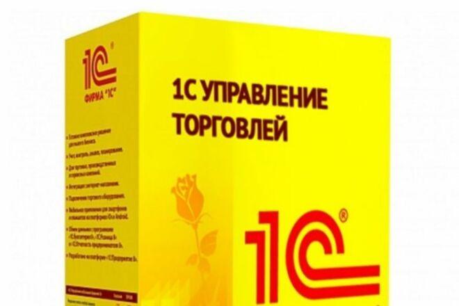 Любые работы по 1с. Доработка, обновление, помощь в выборе продукта 1с 1 - kwork.ru