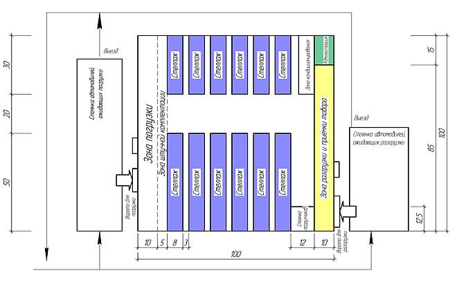 Окажу помощь в создании плана помещения или этажа 6 - kwork.ru