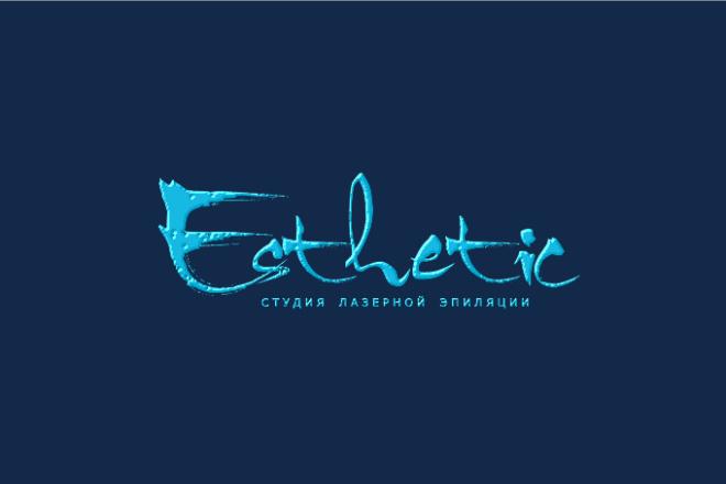 Сделаю стильный именной логотип 232 - kwork.ru