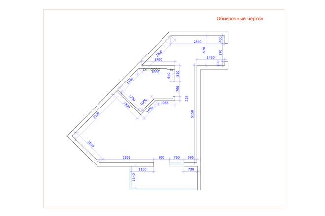 Планировка и перепланировка квартиры, дома и других помещений 24 - kwork.ru