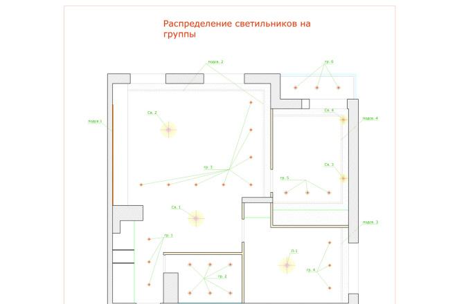 Планировка и перепланировка квартиры, дома и других помещений 29 - kwork.ru