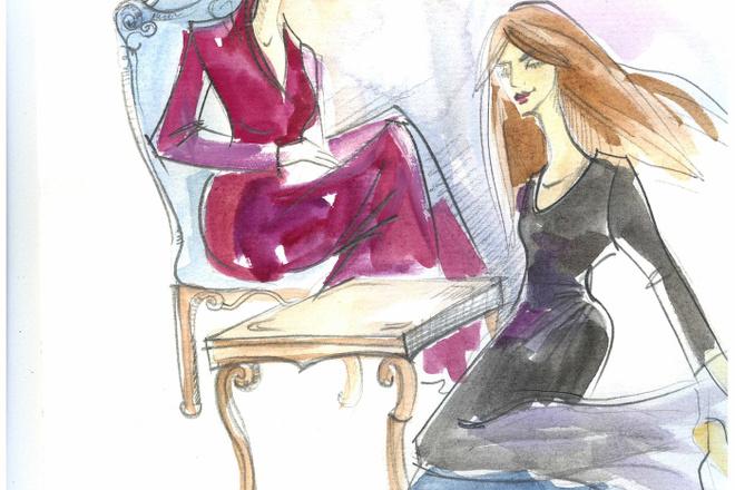 Нарисую рисунок или эскиз в ручной технике красиво и быстро 14 - kwork.ru