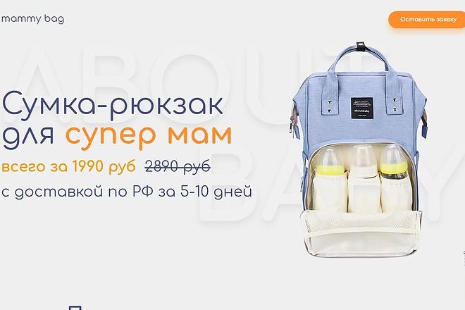 Скопирую Landing Page, Одностраничный сайт 83 - kwork.ru