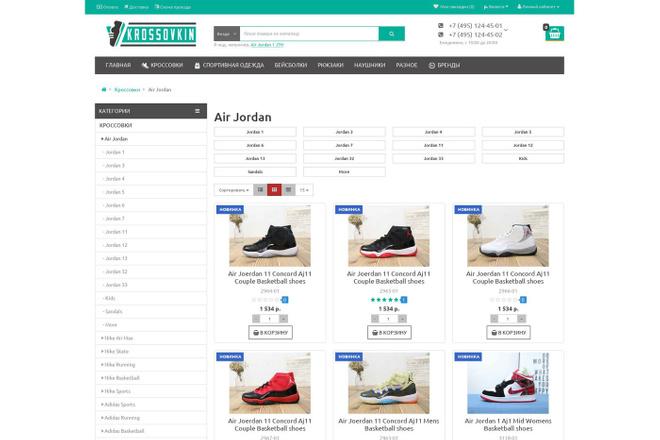 Профессиональный Интернет-магазин на Opencart 51 - kwork.ru