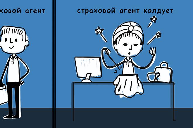 Карикатура 15 - kwork.ru