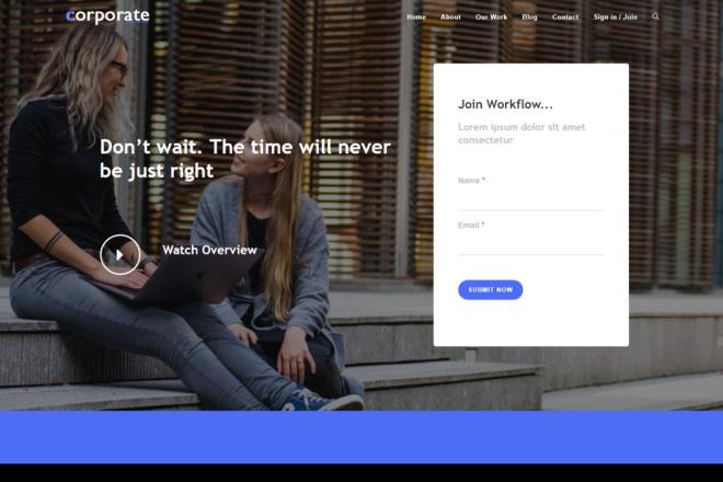 Обновляемая WordPress тема с премиум расширениями - сделай сайт легко 7 - kwork.ru