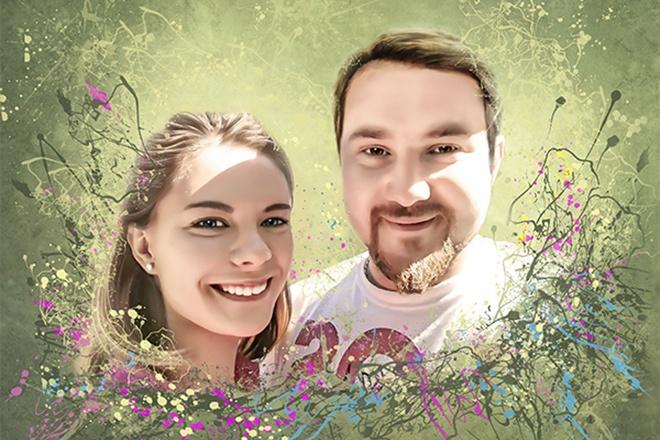 Создам стилизованный цифровой портрет 11 - kwork.ru