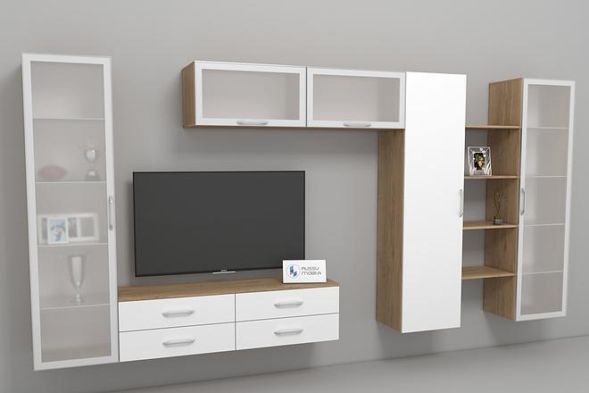Визуализация мебели, предметная, в интерьере 3 - kwork.ru