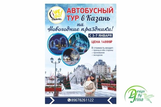Дизайн плакатов, афиш, постеров 1 - kwork.ru
