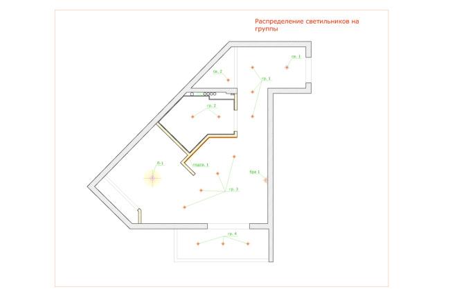 Планировка и перепланировка квартиры, дома и других помещений 16 - kwork.ru