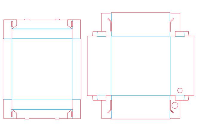 Разработка кроя упаковки из картона или микрогофрокартона 28 - kwork.ru