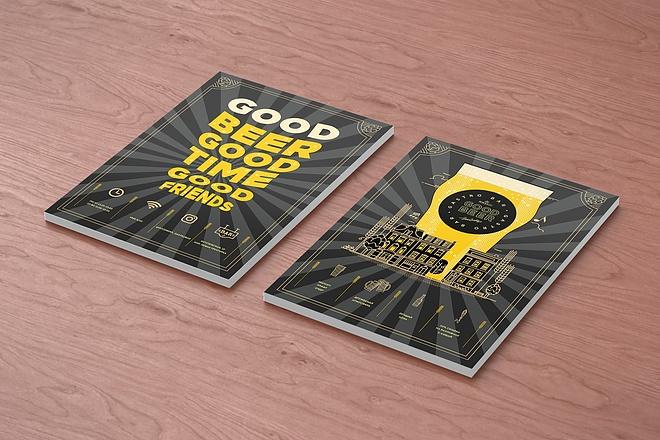 Дизайн рекламной листовки 13 - kwork.ru